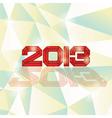 2013 heading vector image vector image