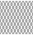 Oval geometric seamless pattern 7209 vector image