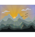 Mountains Nature vector image
