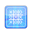 version Tic tac toe icon Eps 10 vector image