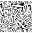 knee-length socks seamless pattern vector image
