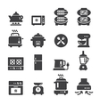 food electric icon vector image