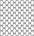 Geometric monochrome simple seamless pattern vector image vector image