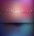 Abstract colorful grunge background with ba vector image