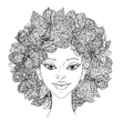 Beautiful fashion sweet women vector image