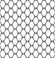 Geometric monochrome simple seamless pattern vector image