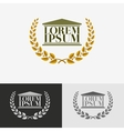 Lawyer logo design template vector image