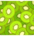 Seamless pattern with kiwi vector image