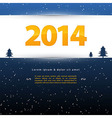 2014 template vector image