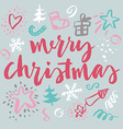 Happy New Year and Christmas vector image vector image