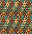 American Indian seamless pattern vector image