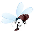 cartoon fly vector image