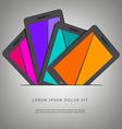 Smart Phone Pad Slot vector image vector image