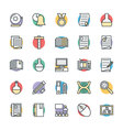 Education Cool Icons 5 vector image