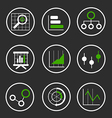 BigDataIconsCollectionSet12 vector image