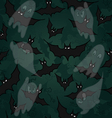 Seamless pattern with for Halloween party vector image