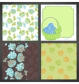 Set of easter backgrounds lots detail vector image