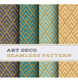Art Deco seamless pattern 12 vector image