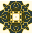 square decorative design element vector image vector image
