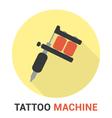Tattoo Machine vector image vector image