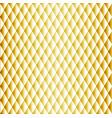 golden seamless rhombus pattern vector image