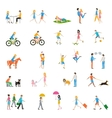 people large set vector image