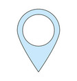 location pointer pin vector image
