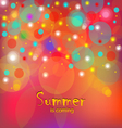 summer is coming-1 vector image
