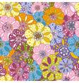 spotty vivid pattern vector image vector image