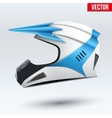 Original Motorcycle Helmet vector image