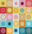 Colors and miracles pattern vector image