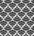 Black Patterned Wallpaper vector image