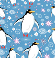 texture love penguins vector image vector image