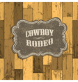 wild west background vector image