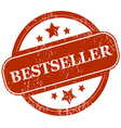 Bestseller grunge icon vector image vector image