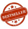 Bestseller grunge icon vector image