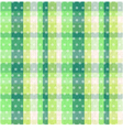 seamless plaid dots texture vector image vector image