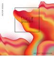 liquid marble texture design vector image