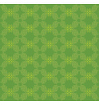 Vitage green flourish pattern vector image