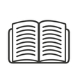 book open isolated icon design vector image