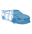 sport car expensive sportcar technology auto vector image