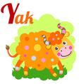 YakLetter vector image