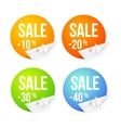 Cruise tours labels and badges vector image