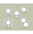 Geometric objects vector image