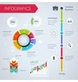 Modern infographics set vector image