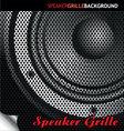 Speaker grille background vector image