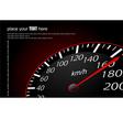 al 0633 speedometer 01 vector image vector image