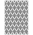 Damask print vector image vector image