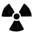 nuclear radiation symbol hand drawing doodle vector image