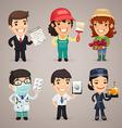 professions set1 4 vector image